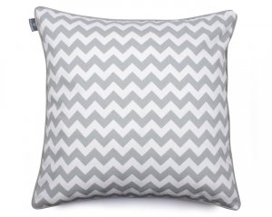 Decorative pillow  Zig Zag Grey