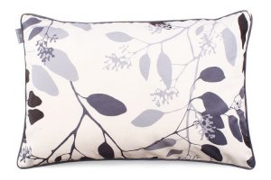 Decorative pillow Branches Gray And Black 40x60 cm