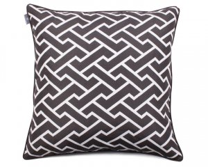 Decorative pillow  Maze Gray