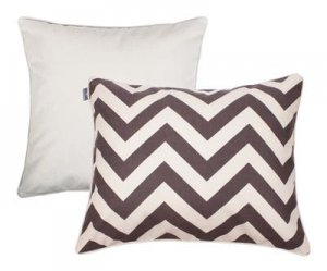 Pillowcase set Zig Zag Brown