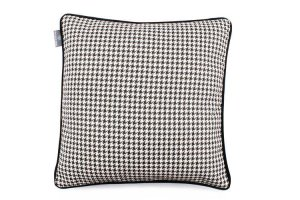 Decorative pillow Check Black (1)