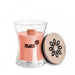 Scented Candle Rhubarb & Lily