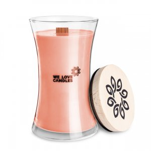 Scented Candle Rhubarb & Lily  (1)