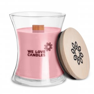 Scented Candle Basket of Tulips (1)