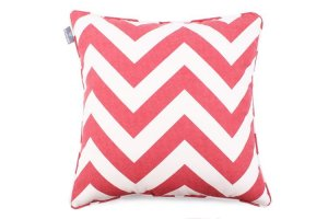 Decorative pillow  Zig Zag Red (1)