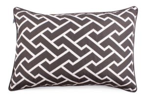 Decorative pillow  Maze Gray (1)