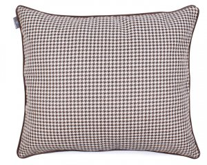 Decorative pillow  Check Dark Chocolate