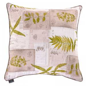 Decorative pillow Ferns