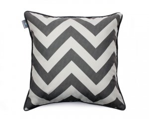 Decorative pillow  Zig Zag Gray