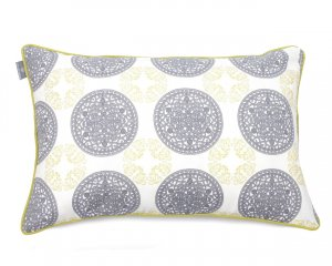 Decorative pillow  Ornaments Green (1)