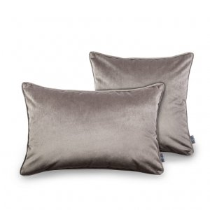 Decorative pillow Grey Velvet