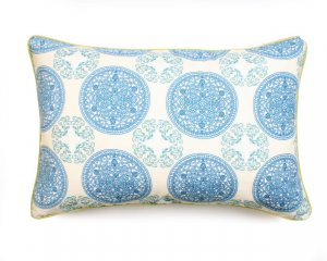 Decorative pillow Ornaments Blue
