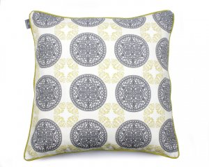 Decorative pillow  Ornaments Green