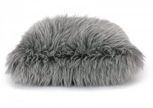 Decorative pillow Fluffy Grey