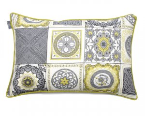 Decorative pillow Spain Mosaic Blue (1)