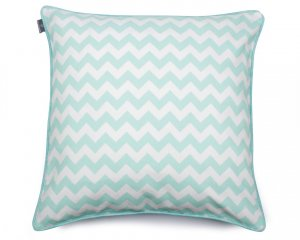 Decorative pillow  Zig Zag Mint (1)