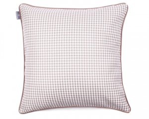 Decorative pillow  Check Milk Chocolate (1)