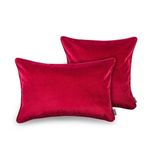 Decorative pillow Elegant Burgundy