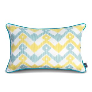 Decorative pillow  Geometry Yellow (1)