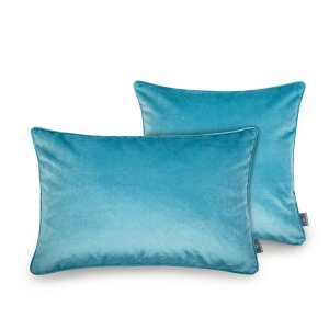 Decorative pillow cover Azure